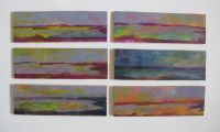 Six M B Views -Bouddi Collection_30 x 8 cm each_oil on canvas.jpg
