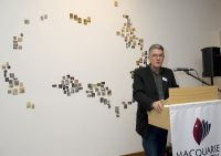 2009 Exhibition opened by David Marr, co-author of Dark Victory with Marian Wilkinson.